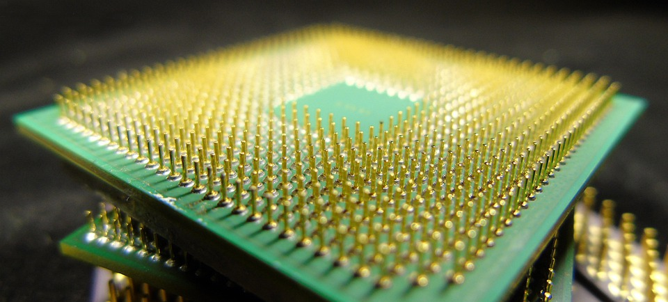A primitive processor chip